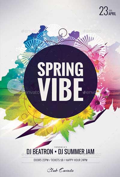 Spring Vibe Flyer