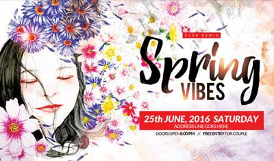 Spring Vibes Flyer
