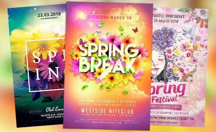 Download Top  Spring Flyer Templates Collection On Flyersonar