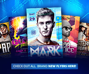 Download the best club and party flyer templates for Photoshop