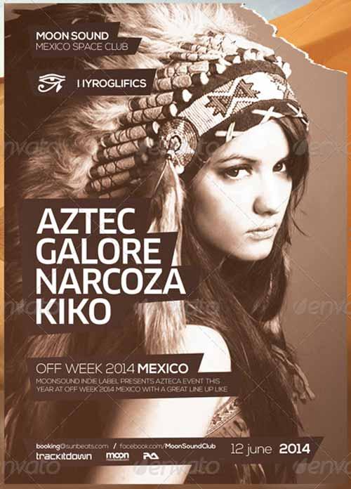 Aztec Summer DJ Party