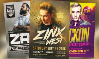 Top 50 DJ Flyer Templates Collection