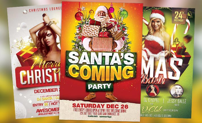 Download Top 10 Free Christmas Flyer Templates For Photoshop