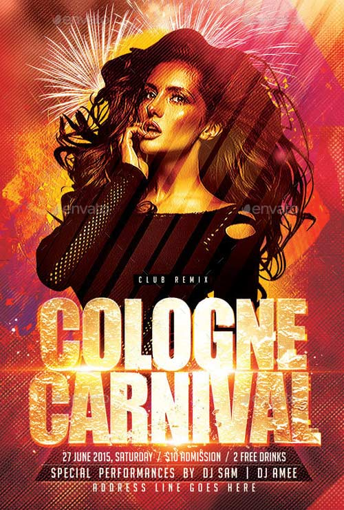 Cologne Carnival Flyer