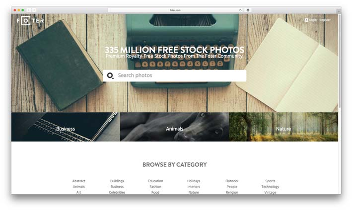 Foter.com - Best Free Stock Photo Resource