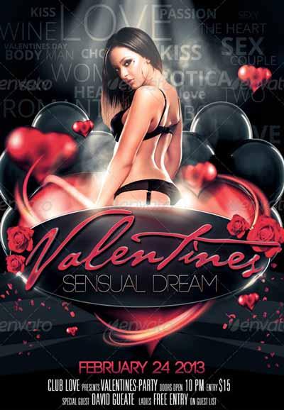 Sensual Dream Flyer Template