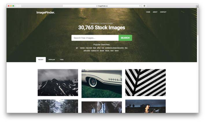 Imagefinder.co - Best Free Stock Photo Resource