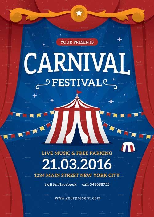 Carnival Festival Flyer / Poster