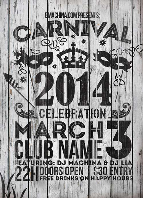 Carnival Celebration Flyer Template