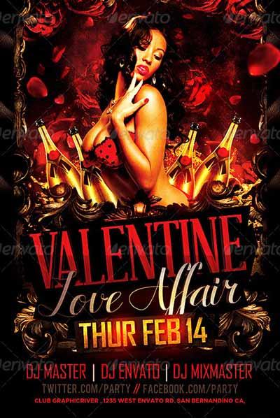 Valentine Affair Party Template