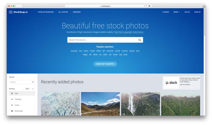 Stocksnap.io - Best Free Stock Photo Resource