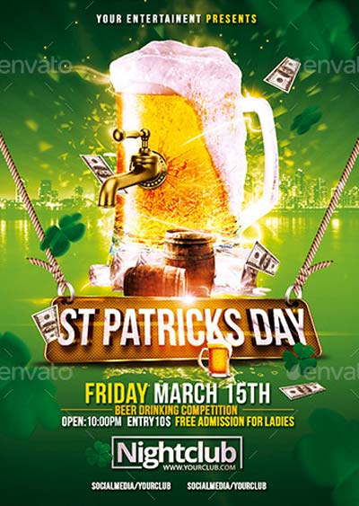 St. Patricks Day | Celebration Flyer Template