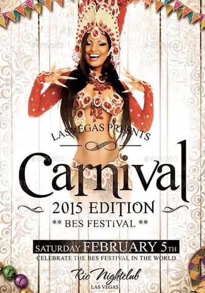 Vintage Carnival 2015 Flyer