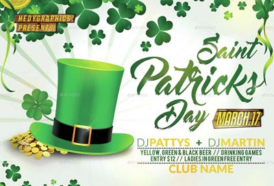Saint Patricks Day - Flyer Template