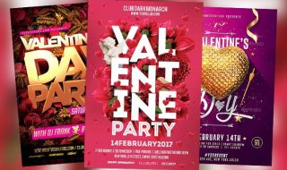 Top 120 Best Valentines Day Flyer Templates 2017