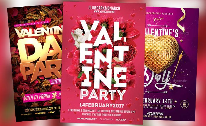 Top 120 Best Valentines Day Flyer Templates 2017