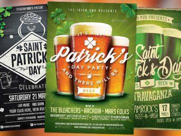 Top 75 Best Saint Patricks Day Flyer Templates 2017