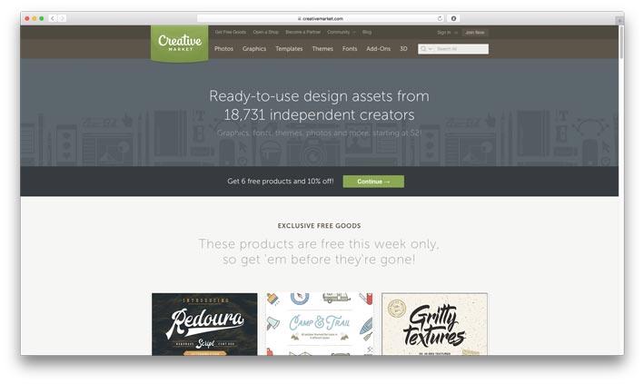 Creativemarket - Best Flyer Marketplace