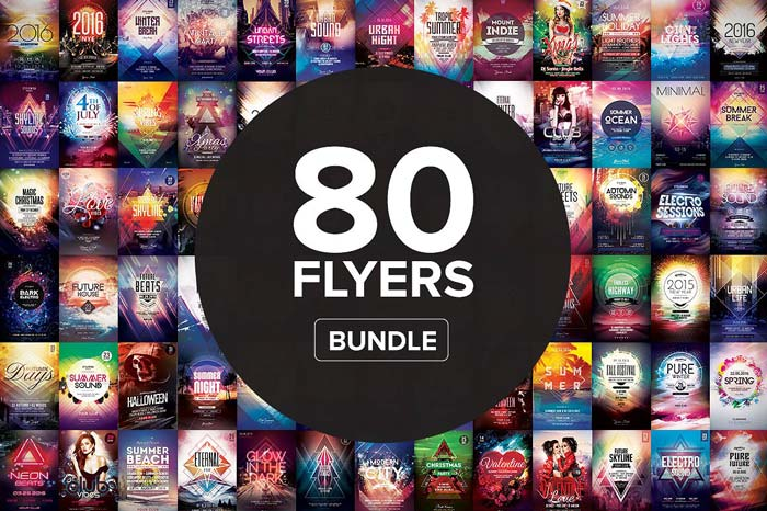 80+ Flyer Templates - Mega Bundle