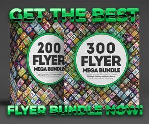 Awesomeflyer Premium Flyer Templates Mega Bundle Deals