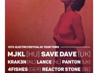 Free Alternative Electro Festival Flyer and Poster Template