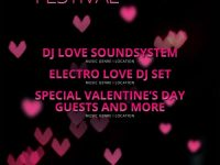 Free Electro Love Festival Flyer Template