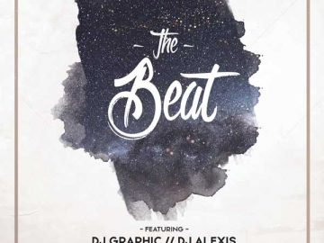 Free Night Beat Party Flyer Template
