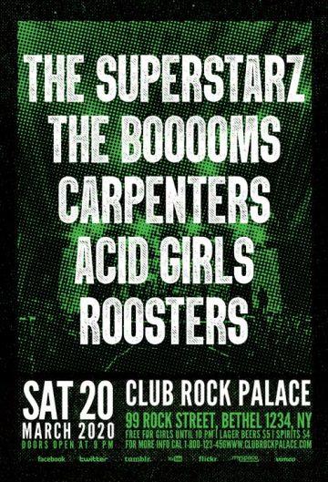 Free Rock Festival Flyer Template
