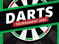 Free Darts Tournament Event Flyer Template